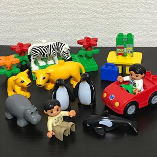 Lego - レゴデュプロ 動物園 ドクターカー セット
