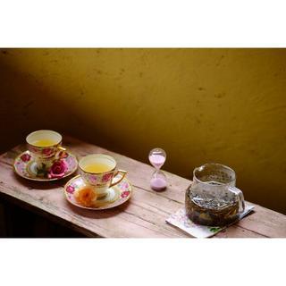 NAKAI ROSE FARM-ローズリーフ4缶-ノンカフェインティー薔薇の葉茶(茶)