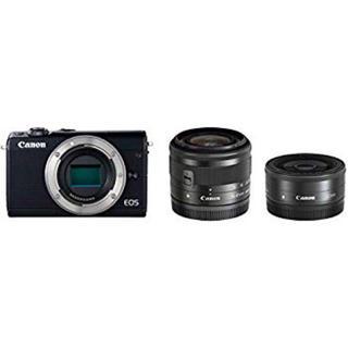 Canon - Canon EOS M100 ダブルレンズキット ブラック