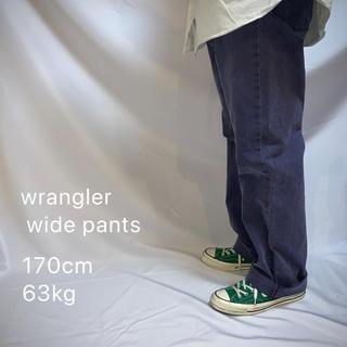 Wrangler - wrangler ラングラー ワイドパンツ