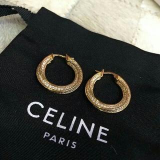 celine - 人気耳飾り CELINEピアス  保存品 未使用