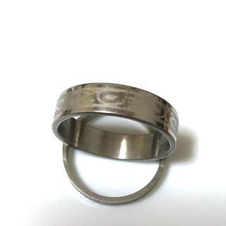 同時購入で300円ステンレス指輪 いばら模様(リング(指輪))