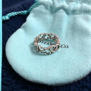 ティファニー(Tiffany & Co.)のTiffany ラビングハート リング(リング(指輪))