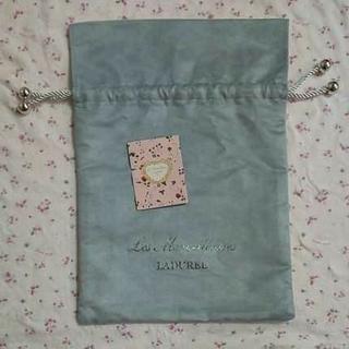 レメルヴェイユーズラデュレ(Les Merveilleuses LADUREE)のレ・メルヴェイユーズ   ラデュレ ギフトラッピング 巾着(ショップ袋)
