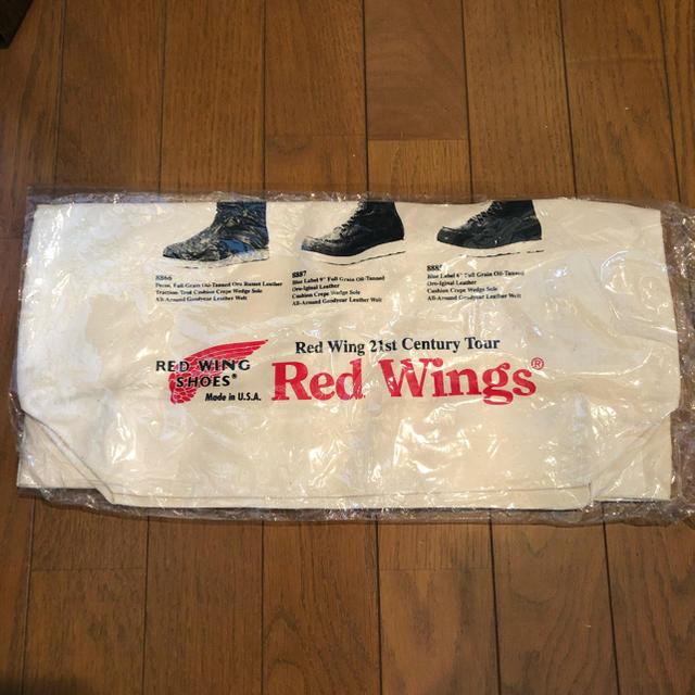 REDWING(レッドウィング)のク未使用RED WINGSレッドウィング非売品トートバッグかばん鞄カバン バック レディースのバッグ(トートバッグ)の商品写真