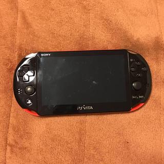 PlayStation Portable - psvita SONY レッド✖️ブラック 希少色!