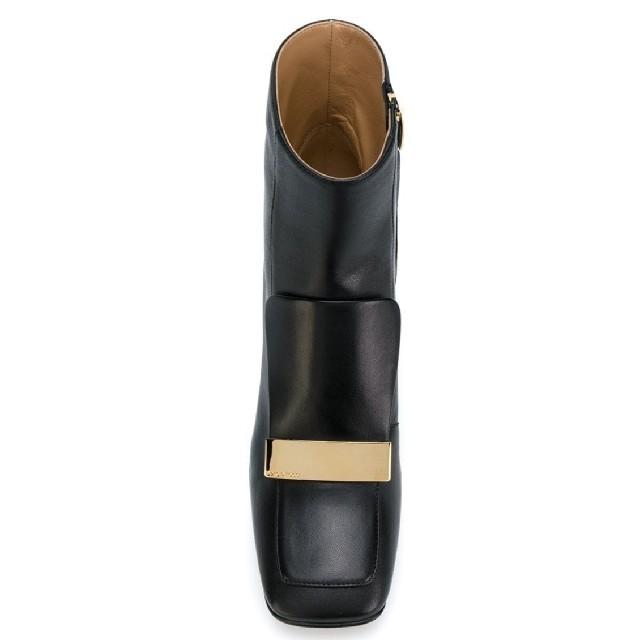 Sergio Rossi(セルジオロッシ)の新品!sergio rossi セルジオロッシ sr1 スクエアブーティ  レディースの靴/シューズ(ブーティ)の商品写真