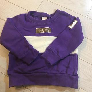 プティマイン(petit main)のプティマイン パーカー 100 男の子(Tシャツ/カットソー)