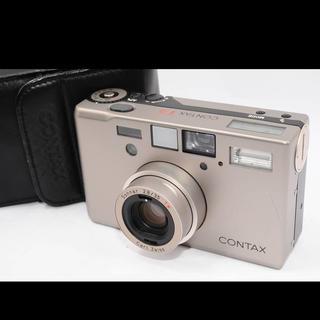 キョウセラ(京セラ)のコンタックス CONTAX T3 データバック チタンシルバー (フィルムカメラ)