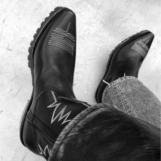 ジョンローレンスサリバン(JOHN LAWRENCE SULLIVAN)のジョンローレンスサリバン  18aw ウエスタンブーツ(ブーツ)