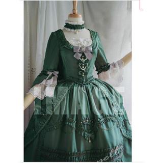 ベイビーザスターズシャインブライト(BABY,THE STARS SHINE BRIGHT)のロココグリーンドレス(その他ドレス)