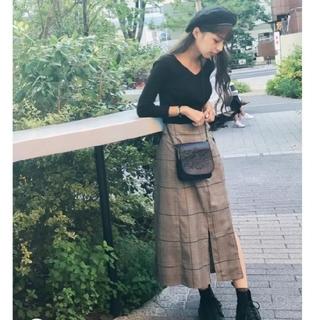 ムルーア(MURUA)のMURUA ラップレイヤードスカート(ひざ丈スカート)