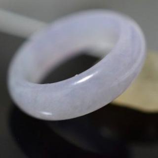 593 16.0号 ラベンダー 翡翠 リング 指輪 硬玉 ジェダイト(リング(指輪))
