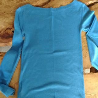ギャップ(GAP)のGAP  ロングスリーブ 水色(Tシャツ(長袖/七分))