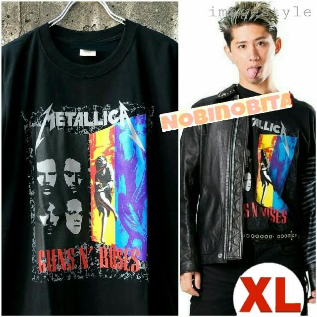 ONE OK ROCK(ワンオクロック)のXL◆半袖/ METALLICA×GunsN'Roses メンズのトップス(Tシャツ/カットソー(半袖/袖なし))の商品写真