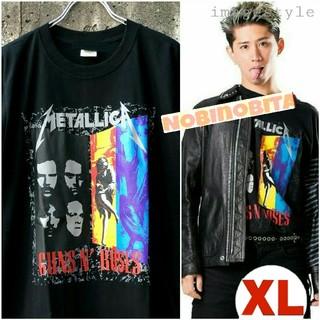 ONE OK ROCK - XL◆半袖/ METALLICA×GunsN'Roses