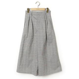 ムルーア(MURUA)のMURUA ムルーア チェック パンツ ズボン グレー 1 S(その他)