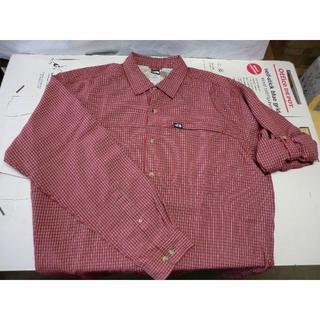 ザノースフェイス(THE NORTH FACE)のL005   ノースフェイス ロールアップ袖 長袖シャツ 一掃セール(シャツ)