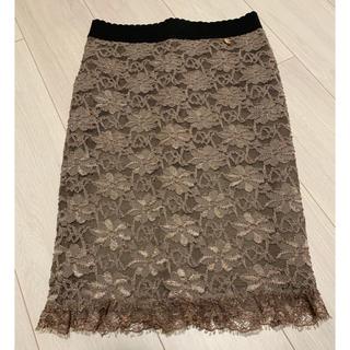 リナシメント(RINASCIMENTO)のリナシメント  レーススカート 未使用品(ひざ丈スカート)