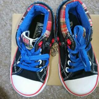 ヴァンズ(VANS)の美品 VANS   バンズ  ハイカットシューズ  スニーカー 靴 16com(スニーカー)