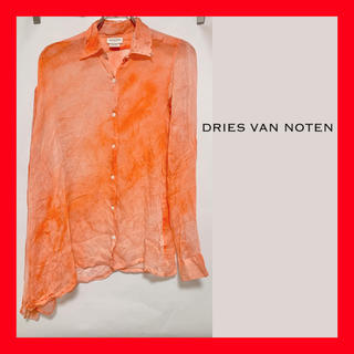 ドリスヴァンノッテン(DRIES VAN NOTEN)のレア美品●Dries Van Noten Tie-dye Silk Shirt(シャツ)