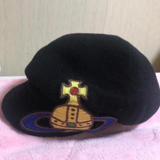 ヴィヴィアンウエストウッド(Vivienne Westwood)のヴィヴィアンウエストウッド キャスケット 帽子 ベレー帽(キャスケット)