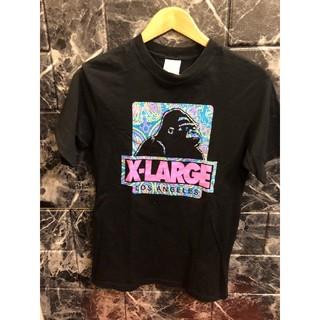 エクストララージ(XLARGE)の☆ X-LAGE エクストララージ 半袖TEE ペイズリー ピンク(Tシャツ/カットソー(半袖/袖なし))