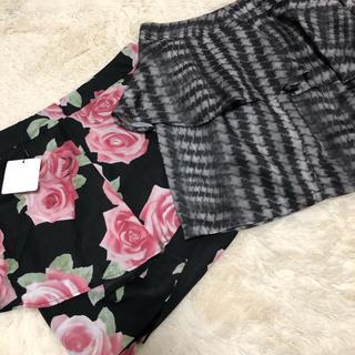 リエンダ(rienda)のペプラムスカート2枚セット美品💎1枚600円(ミニスカート)