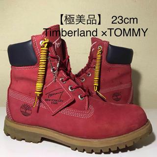 ティンバーランド(Timberland)の【Timberland 極美品】 23cm ティンバーランド×TOMMY(ブーツ)