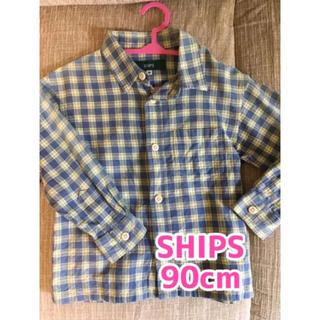 シップス(SHIPS)のSHIPS キッズシャツ 90cm(Tシャツ/カットソー)