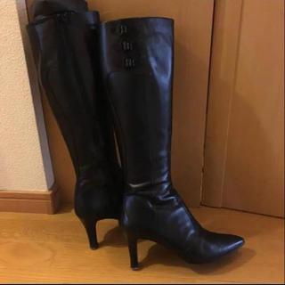 Odette e Odile - ユナイテッドアローズ オデットディオディール 革ロングブーツ24.5cm 黒