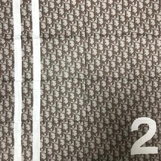 クリスチャンディオール(Christian Dior)のChristian Dior コットンスカーフ☆トロッター柄(バンダナ/スカーフ)