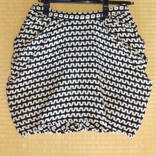 ルシェルブルー(LE CIEL BLEU)の膝上 バルーンスカート ルシェルブルー (ひざ丈スカート)