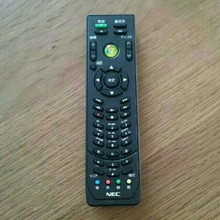 エヌイーシー(NEC)のNECパソコン テレビリモコン(PC周辺機器)
