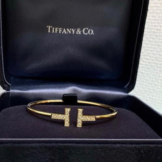 Tiffany & Co. - 大幅値引き中‼️池田エライザ.木下優樹菜.武井咲.ブレスレット✨Tワイヤー‼️
