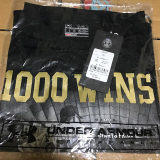 アンダーアーマー(UNDER ARMOUR)の値下げ!原監督 Tシャツ 1000勝記念(記念品/関連グッズ)