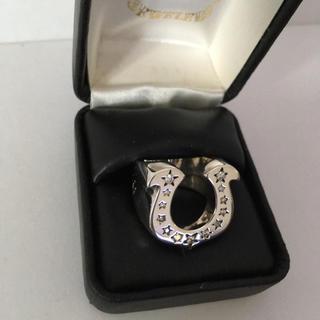 テンダーロイン(TENDERLOIN)のTENDERLOIN テンダーロイン ホースシュー 13号 石入り ダイヤモンド(リング(指輪))