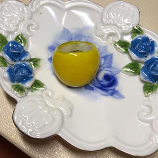 ヴェネチアグラス ガラス 指輪 リング 黄色 イエロー(リング(指輪))