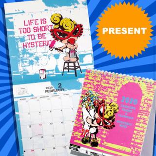ヒステリックミニ(HYSTERIC MINI)の卓上カレンダー(カレンダー/スケジュール)