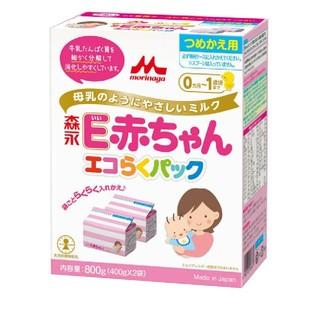 モリナガニュウギョウ(森永乳業)のE赤ちゃん エコらくパック 森永乳業 粉ミルク(その他)