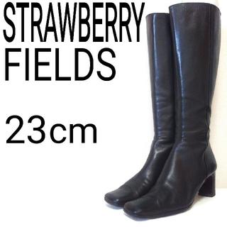 ストロベリーフィールズ(STRAWBERRY-FIELDS)のSTRAWBERRY FIELDS ストロベリーフィールズ ブーツ レザー 23(ブーツ)