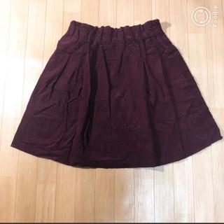 clette - clette コーデュロイスカート フレアスカート
