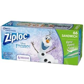 アナトユキノジョオウ(アナと雪の女王)のクリスマス アナ雪 ジップロック Ziploc(収納/キッチン雑貨)