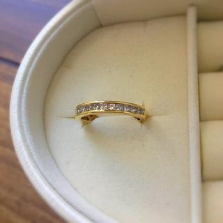 最終値下💖k18 ブラウン ダイヤモンド リング 10号(リング(指輪))