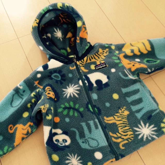 patagonia(パタゴニア)のpatagoniaフリース上下18M キッズ/ベビー/マタニティのベビー服(~85cm)(ジャケット/コート)の商品写真