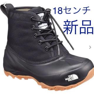 ザノースフェイス(THE NORTH FACE)の新品 ノースフェイス スノーブーツ キッズ  18センチ(ブーツ)