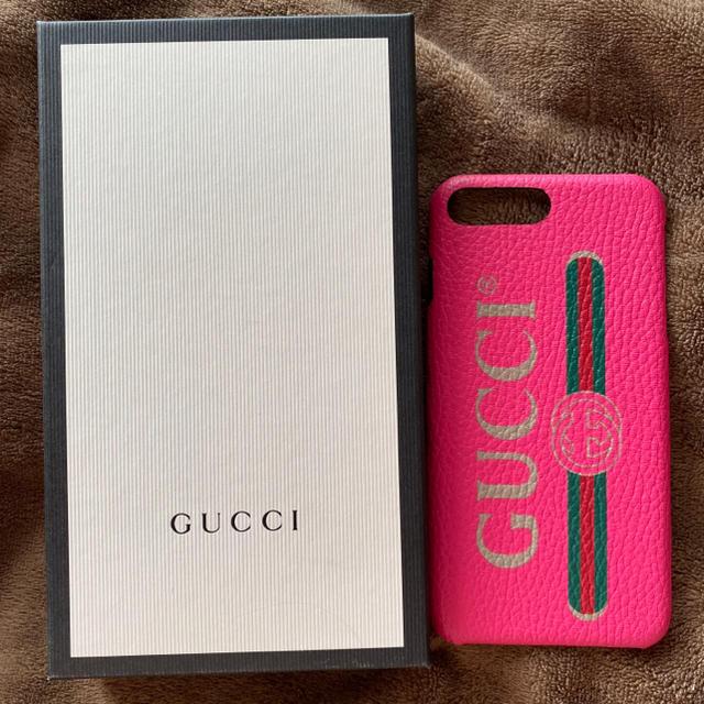 Gucci - GUCCI iPhoneケース iPhone8plus の通販