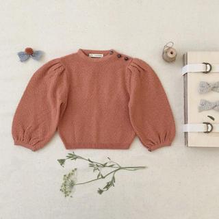 Caramel baby&child  - 新品タグ付き♡ soor ploom ニット セーター 4-5y