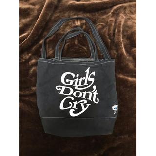 アンダーカバー(UNDERCOVER)のgirls don't cry × under cover トート  バック(トートバッグ)