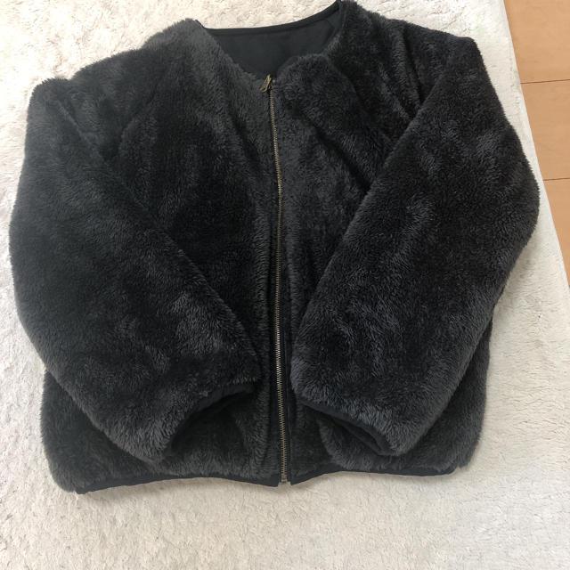 SM2(サマンサモスモス)のサマンサモスモス ブルー リバーシブル アウター レディースのジャケット/アウター(ブルゾン)の商品写真